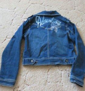 Джинсовая куртка р.128