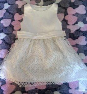 Новое платье на девочку 120-140 рост