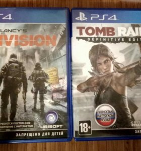 Tomb raider definitive edition PS4 the division