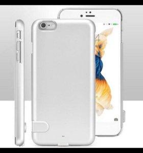 Чехол- power bank для iPhone 6/6s 1500 mAh
