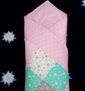 Одеяло-конверт на выписку.