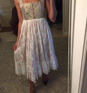 Шикарное платье zimmerman