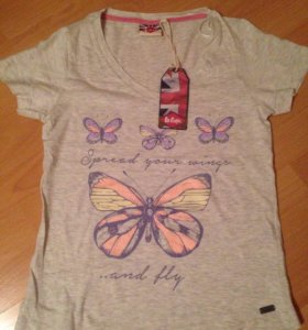 Женская футболка Lee Cooper
