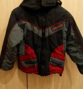 Куртка детская на осень 2-3 года