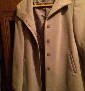 Пальто(кашемир/шерсть)