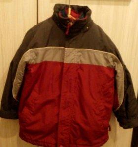 Куртка детская на осень 5-6 лет