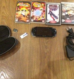 PSP 2000 прошитая с играми