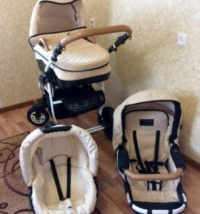 Детская коляска Carino DPG 3 в 1