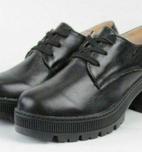 Новые ботинки (натуральная кожа)