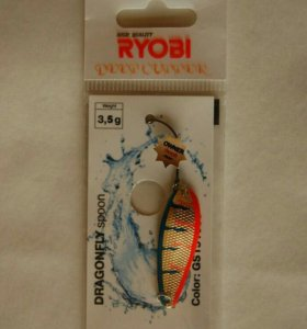 Блесна микроколебалка Ryobi