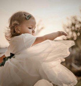Пошив платьев для маленьких принцесс 👗
