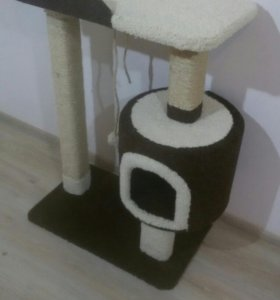 Когтеточка, домик для кошки