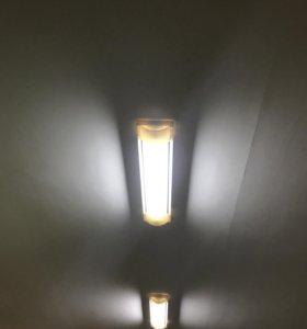 Светильники потолочные люстры свет 6 штук лампы
