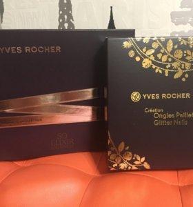 Подарочные наборы роше so elixir и glitter nails