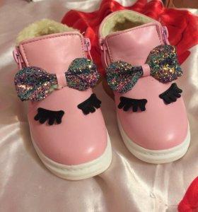 Новые ботинки осень-тёплая зима