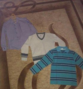 Рубашка, свитер, поло