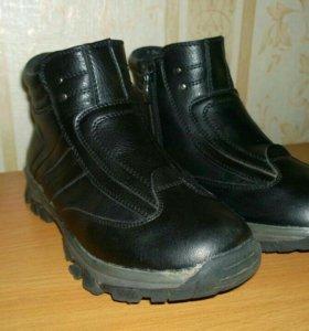 Ботинки для мальчика осенние