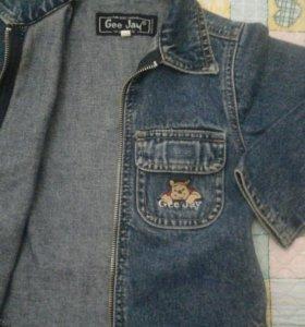 Джинсовая куртка. На мальчика