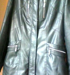 Куртка кожзам xl