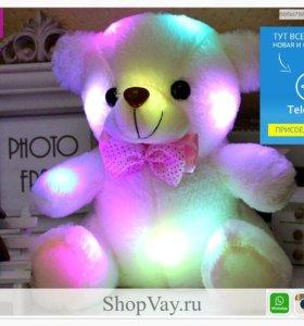 Ночник светодиодный плюшевый медведь