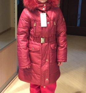 Зимнее пальто Borelli д/д р-р 10 лет