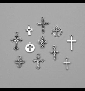 Набор подвесок-крестов