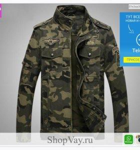 Камуфляж куртка пилота военного бомбардировщика ВВС