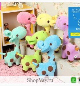 Мягкая игрушка - Плюшевый жираф