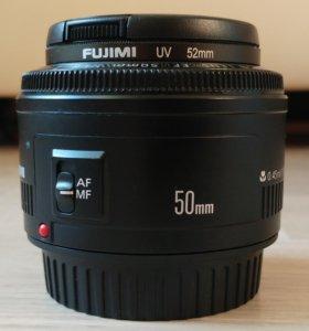Canon EF 50mm f/1.8 II + много всего
