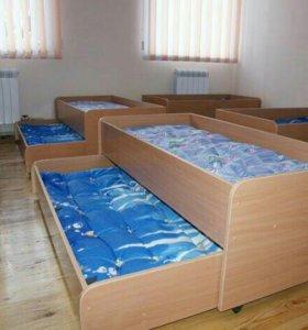 Двухместная детская кровать
