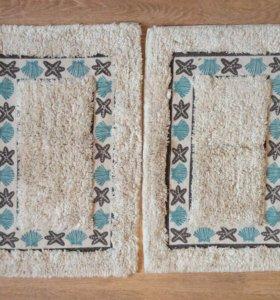 Новые мягкие коврики 2 штуки