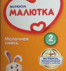 Молочная смесь с 6 месяцев МАЛЮТКА2