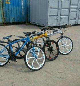 """BMW"" Велосипед на литых дисках"
