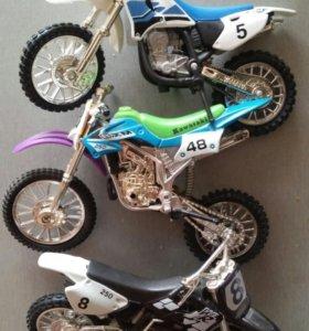 Кроссовые мотоциклы