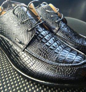 Мужские стильные туфли (новые)