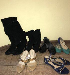 Обувь 38 размера ( 6 пар)