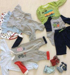 Вещи детски 2-4 месяца пакет