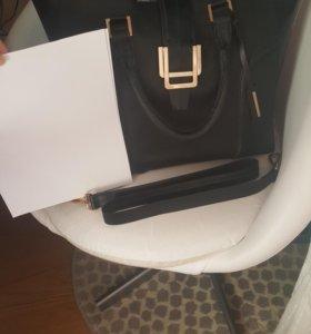 сумка-шоппер кожа новая