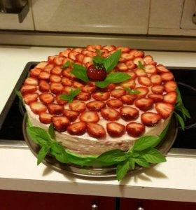 Торты и другая выпечка на заказ