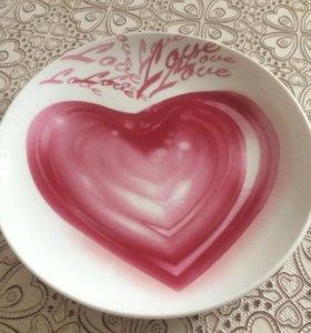 Тарелка керам.