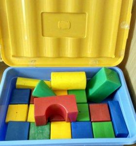 Короб для игрушек с кубиками