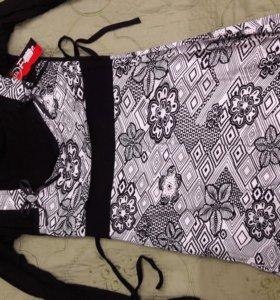 Туника платье размер 42