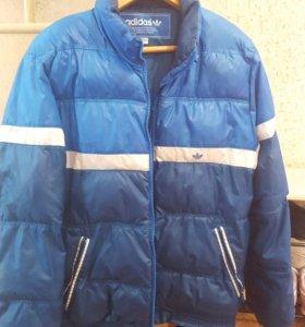 Теплая зимняя куртка adidas