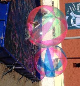 Водные шары и бассейн