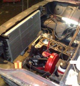 Радиатор охлаждения на ВАЗ 2108-09-099