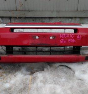Бампер передний хонда мобилио 01-03
