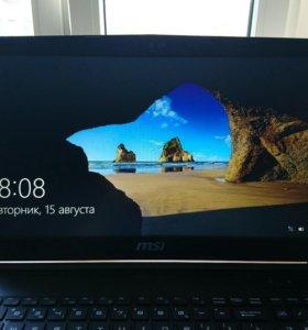 Игоровой ноутбук MSI