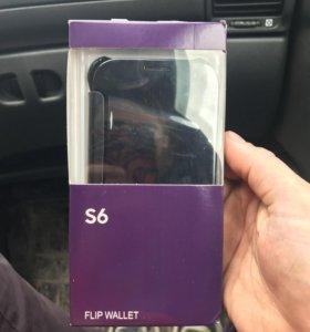 Чехол книжка Samsung S6