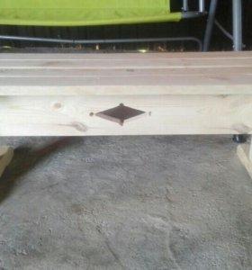Скамейка для бани,сауны.