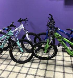 Подростковые велосипеды от 6 до 12 лет